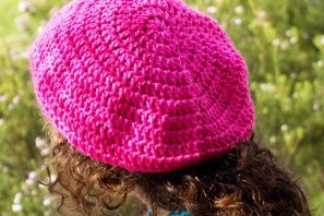 Back to Basics ~ Basic Slouchy Beanie Crochet Pattern