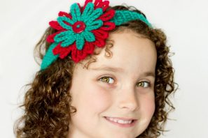 Season Of Giving ~ Crochet Headband & Flower Crochet Pattern