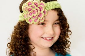 Beautifully Blushed Headband & Rosette Crochet Pattern