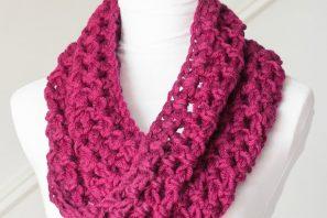 Basic Chunky Cowl – Beginner Crochet Pattern