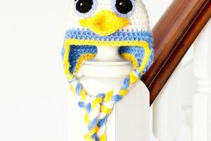 Donald Duck Inspired Baby Hat Crochet Pattern