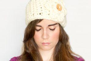 Charmfully Chunky Flower & Earwarmer Crochet Pattern