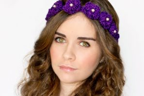 Daisy Flower Crown Crochet Pattern