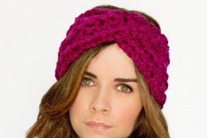 Chunky Criss-Cross Headband Crochet Pattern