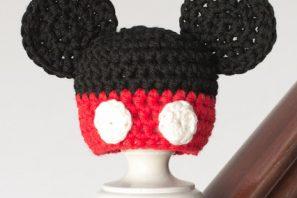 Newborn Mickey Mouse Inspired Hat Crochet Pattern