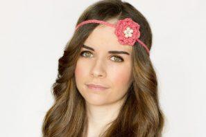 Rosetta Headband Crochet Pattern