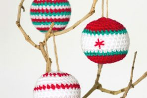 Crocheted Christmas Baubles – Pattern