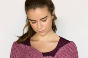 Tea Rose Shawl Crochet Pattern