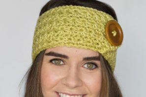 Enchanted Forest Headband Crochet Pattern
