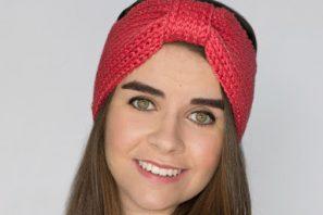 Coral Candy Headband Crochet Pattern