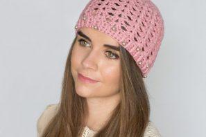 Pearly Rose Hat – Crochet Pattern