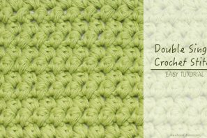 How To: Double Single Crochet (Mini Puffs)
