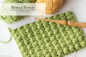 How To: Crochet The Bobble Stitch – Easy Tutorial