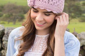 Lilac & Lace Vintage Hat Crochet Pattern