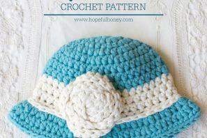 Vintage Baby Cloche Hat – Free Crochet Pattern