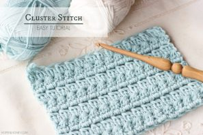 How To: Crochet The Cluster Stitch – Easy Tutorial