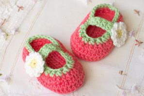 Tootsie Fruity Baby Booties – Crochet Pattern + Giveaway