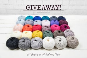 24 Skeins Of MillaMia Yarn Giveaway with LoveCrochet!