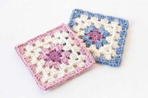 Classic Granny Square Crochet Pattern