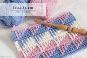 How To: Crochet The Spike Stitch – Easy Tutorial