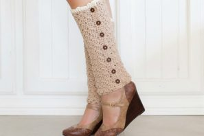 Vintage French Leg Warmers – Crochet Pattern + Giveaway