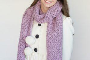 Wisteria Vine Scarf – Giveaway + Crochet Pattern