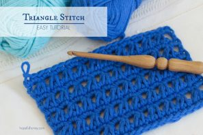 How To: Crochet The Triangle Stitch – Easy Tutorial