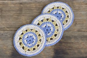 Meadowlark Coasters Crochet Pattern
