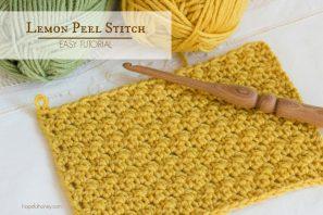 How To: Crochet The Lemon Peel Stitch – Easy Tutorial