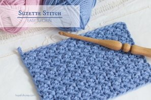 How To: Crochet The Suzette Stitch – Easy Tutorial