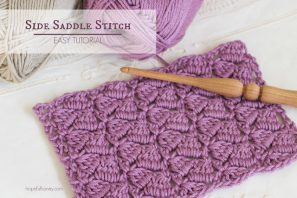 How To: Crochet The Side Saddle Stitch – Easy Tutorial