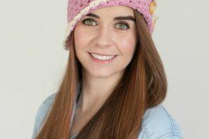 Strawberry Eclair Cloche Hat – Giveaway + Crochet Pattern