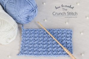 How To: Crochet The Crunch Stitch – Easy Tutorial