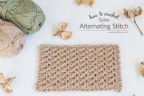 How To: Crochet The Alternating Spike Stitch – Easy Tutorial
