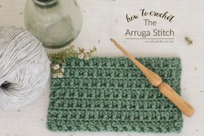 How To: Crochet The Arruga Stitch – Easy Tutorial