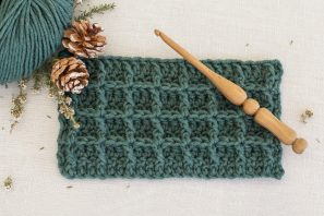 How To: Crochet The Waffle Stitch – Easy Tutorial