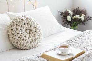Fireside Melody Cushion – Crochet Pattern