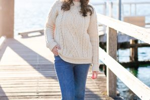 Meara Fisherman Sweater Crochet Pattern