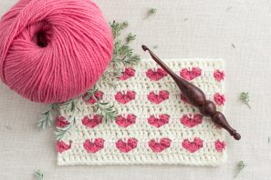 How To: Crochet The Heart Stitch – Easy Tutorial