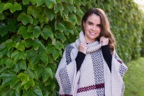 Glencoe Tartan Poncho Crochet Pattern