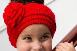 Lady In Red ~ Headband Crochet Pattern