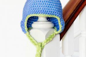 Baby Pom Pom Hat Crochet Pattern