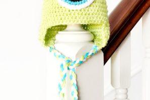 Monsters Inc. Mike Wazowski Inspired Baby Hat Crochet Pattern