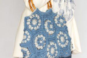 Dahlia Hexagon Handbag Crochet Pattern