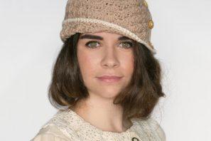 1920's Caramel Cloche Hat Crochet Pattern