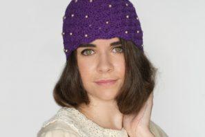1920's Scalloped Pearl Cloche Hat Crochet Pattern
