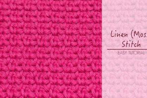 How To: Crochet The Linen (Moss) Stitch