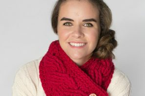 Chunky Cabled Neck Wrap – Crochet Pattern + Giveaway