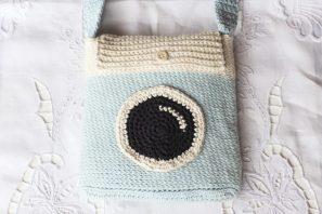 Camera Satchel Bag Crochet Pattern