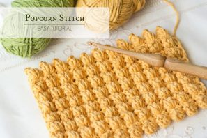 How To: Crochet The Popcorn Stitch – Easy Tutorial